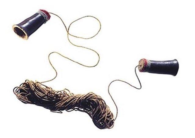 Un enigmático y antiguo aparato de comunicación. Imagen: Museo Nacional Smithsoniano de los Indios Americanos