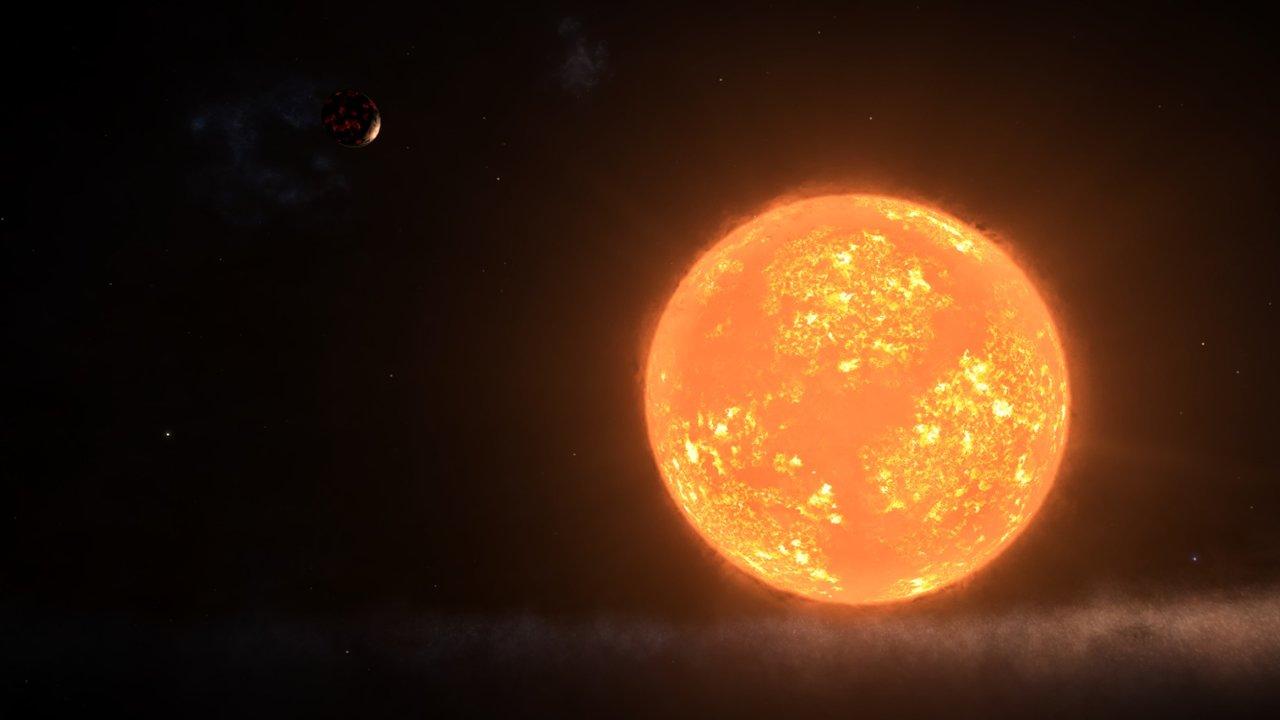 Astrónomos descubren una «extraña fuerza» en las entrañas de la moribunda estrella Antares