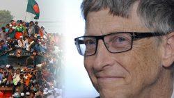 ¿BIll Gates tiene planes de reducir la población mundial?