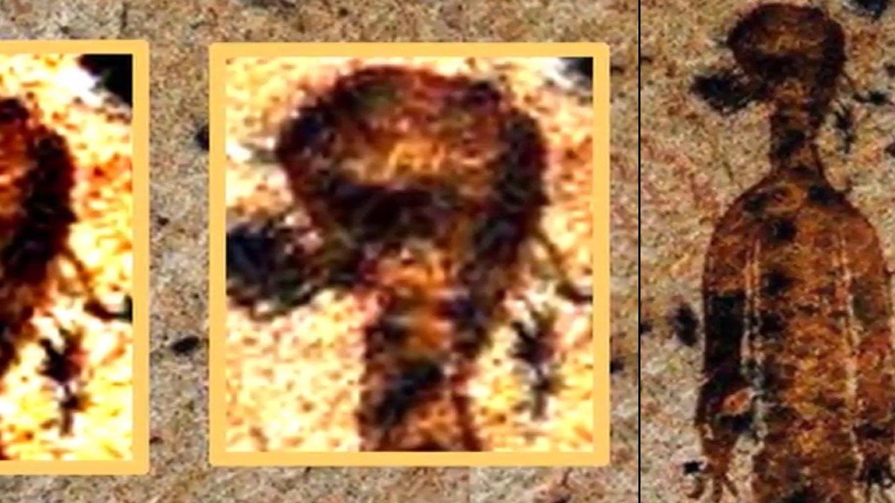 Descubren nueva Evidencia Extraterrestre en la cueva de Chhattisgarh, India