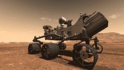 Curiosity descubre en Marte un lago estratificado similar a los de la Tierra