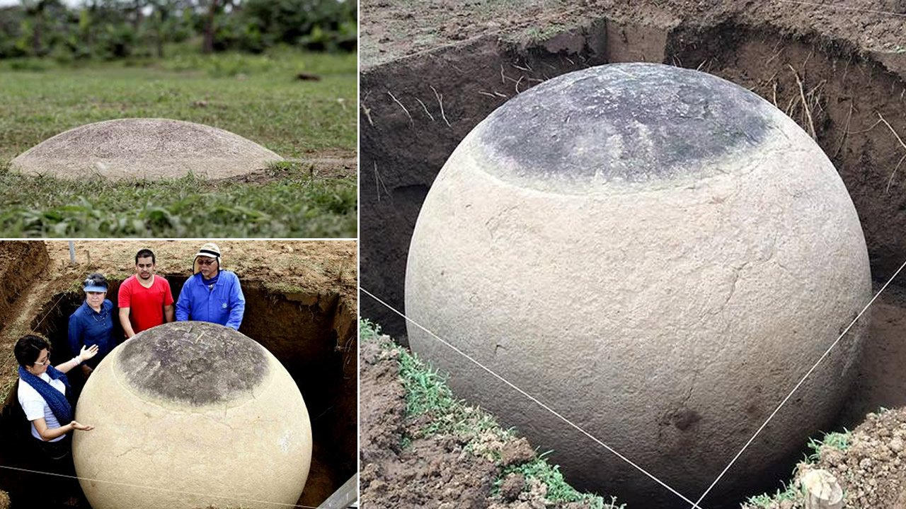 El Misterio de las petroesferas de Costa Rica: Desentierran esferas de piedra casi perfectas