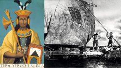 El Inca explorador Tupac Yupanqui y su épico viaje a la Isla de Pascua y a la Polinesia