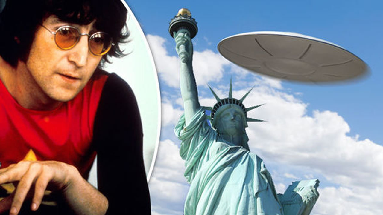 John Lennon y su extraordinario y sorprendente avistamiento OVNI