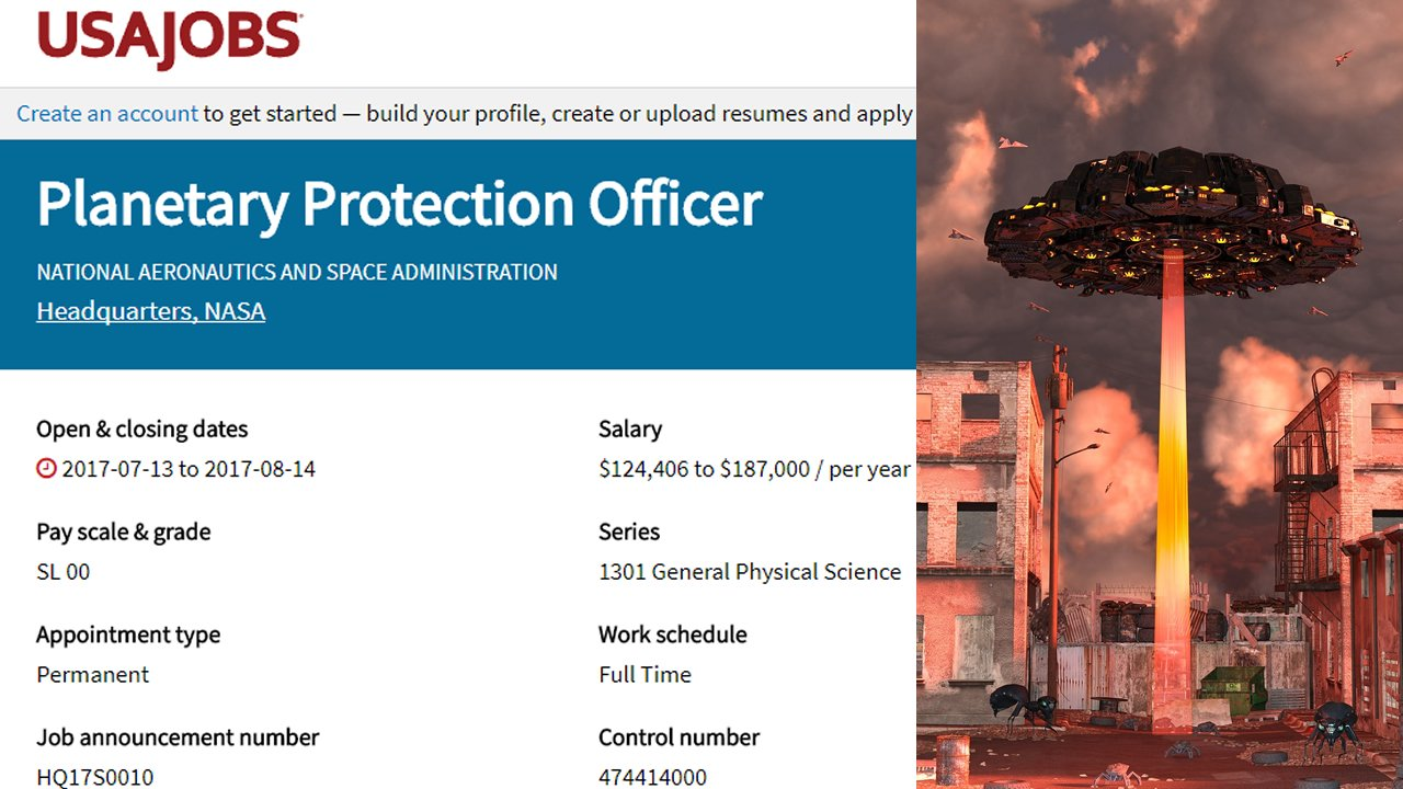 NASA contrata «Oficial de Protección Planetaria» y la USAF busca crear un «Cuerpo Espacial». ¿Quiénes son los enemigos que acechan en el espacio?