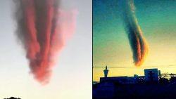 Una extraña nube causa terror en Brasil