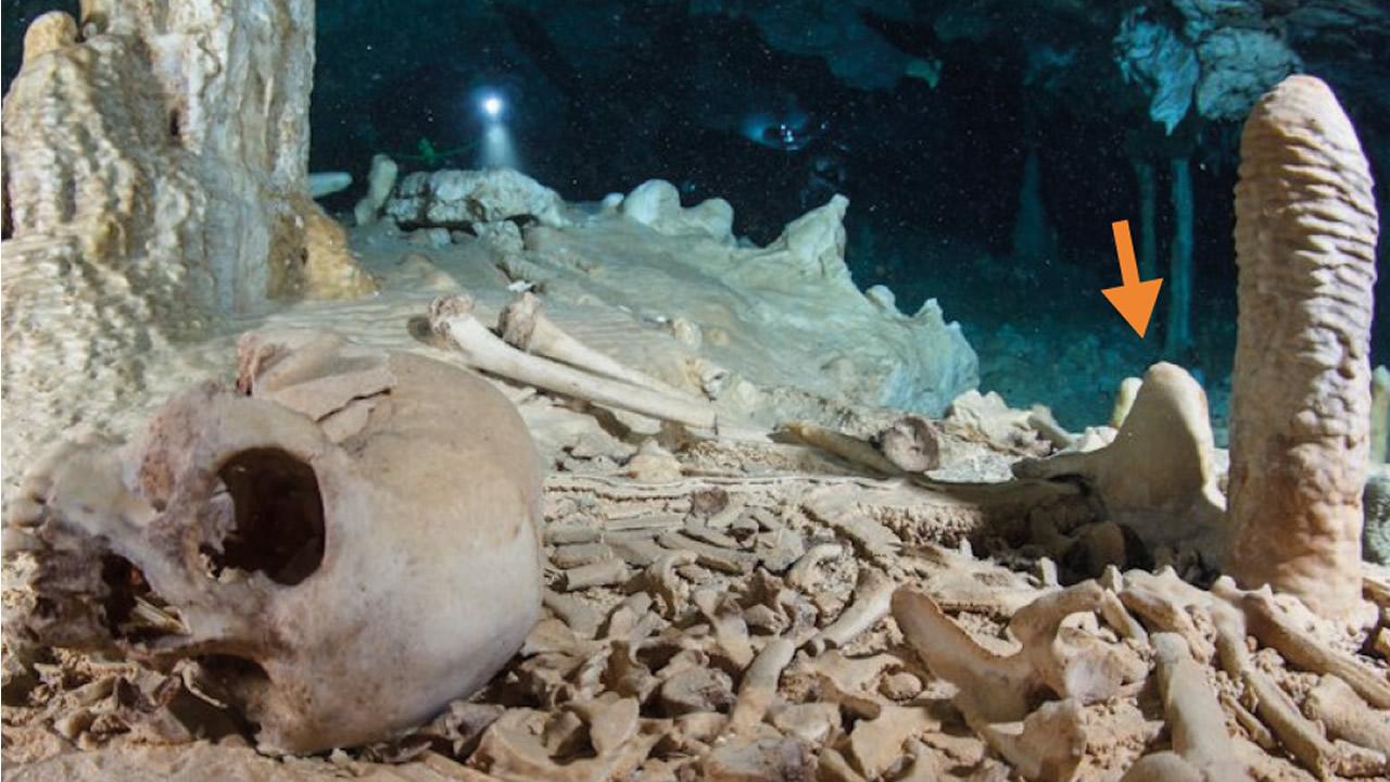Esqueleto de hace 13.000 años en México brinda pistas sobre el origen de los pobladores de América