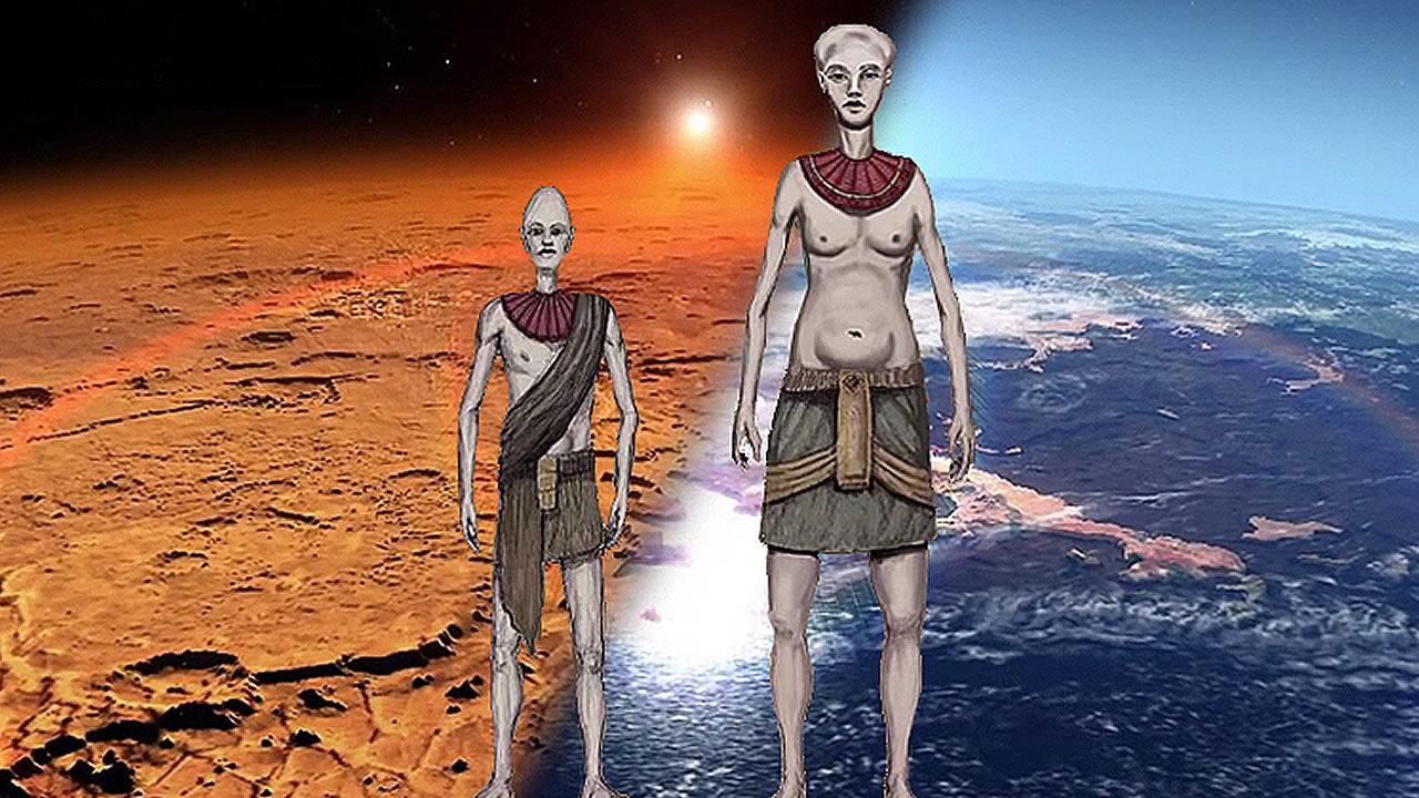 Refugiados de Marte se establecieron en la Antártida hace más de un millón de años, según documento de la CIA