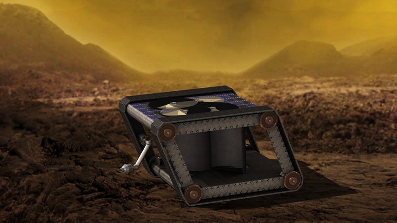 Este Rover Mecánico podría ser la manera perfecta de explorar Venus