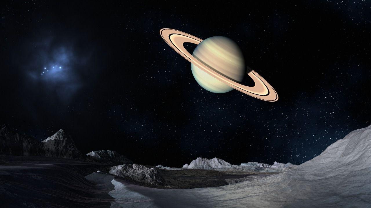 «En la cima del mundo» NASA muestra fotografía del Polo Norte de Saturno