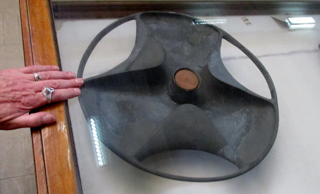 El famoso cuenco o disco de esquisto