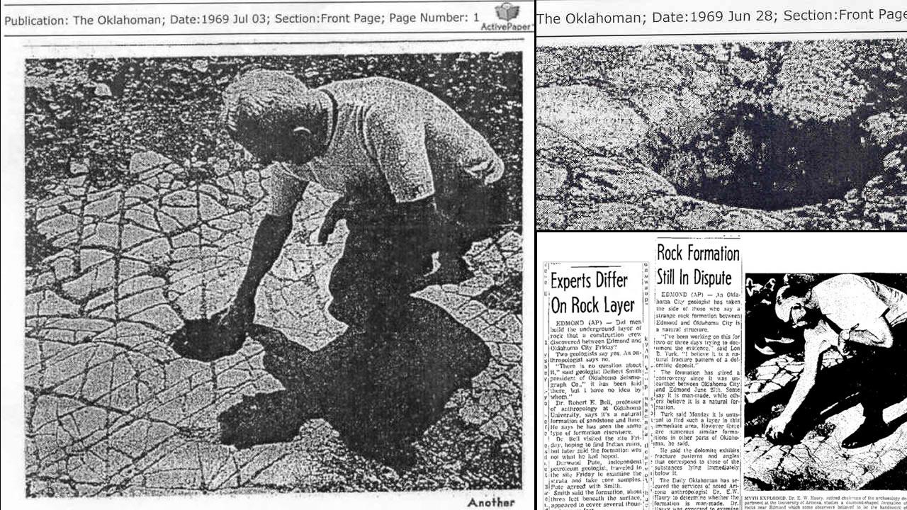 Enigmática construcción antediluviana de 200.000 años de antigüedad encontrada en Oklahoma