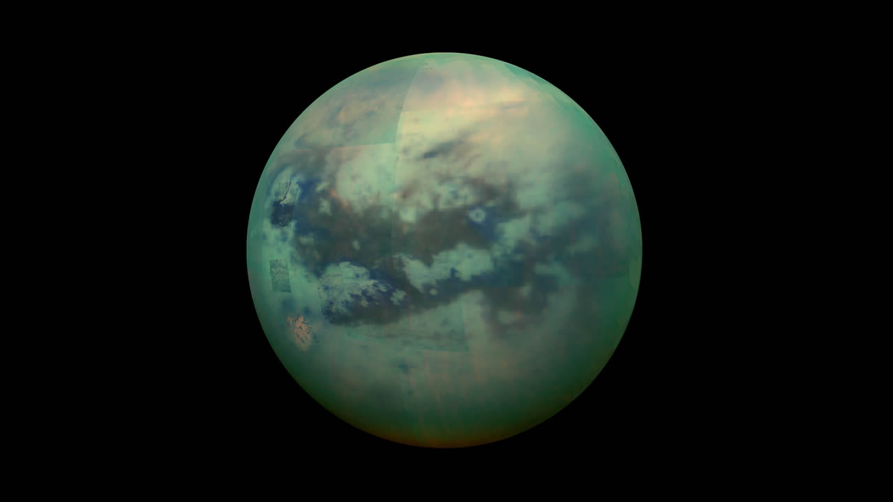 Titán, la luna de Saturno, podría albergar un tipo de vida que no imaginábamos