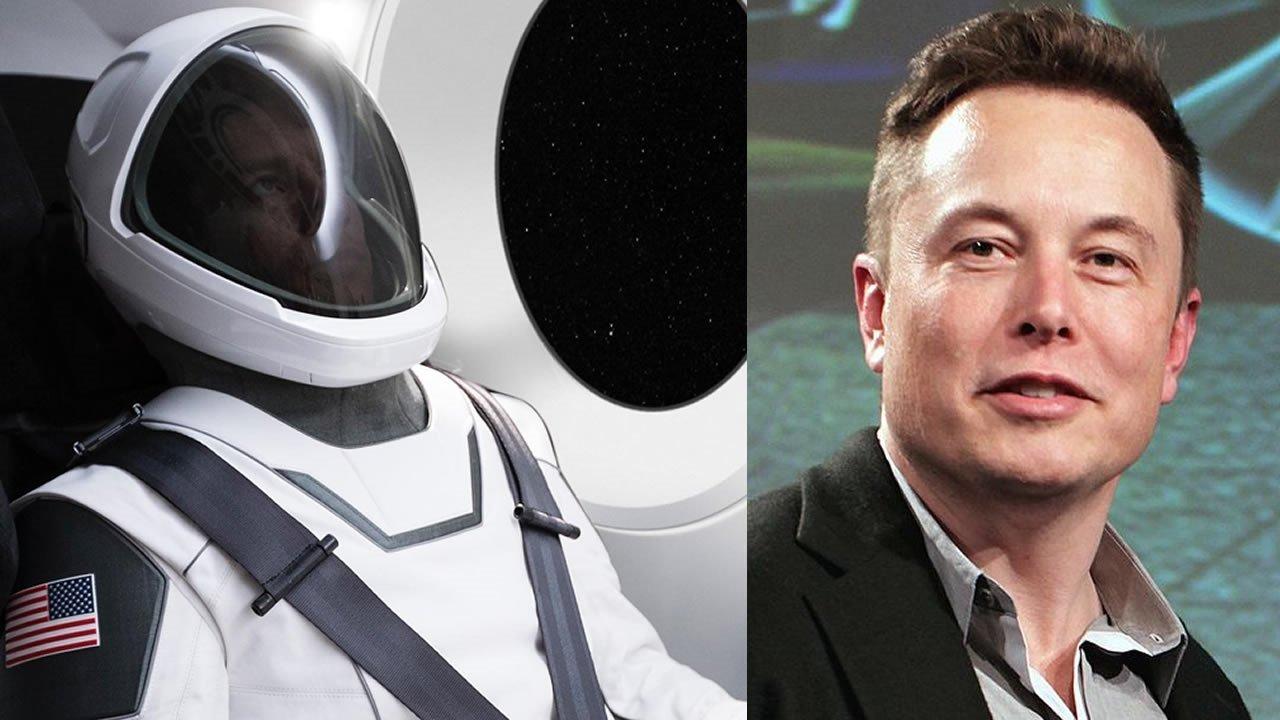 Elon Musk muestra el traje espacial del futuro de SpaceX
