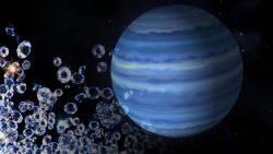 Científicos logran recrear una «lluvia de diamantes» de los gigantes Neptuno y Urano