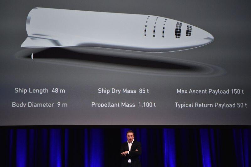 Elon Musk, en una conferencia sobre su proyecto para colonizar Marte, este viernes en Adelaida.
