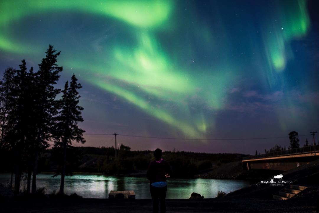 Aurora registrada