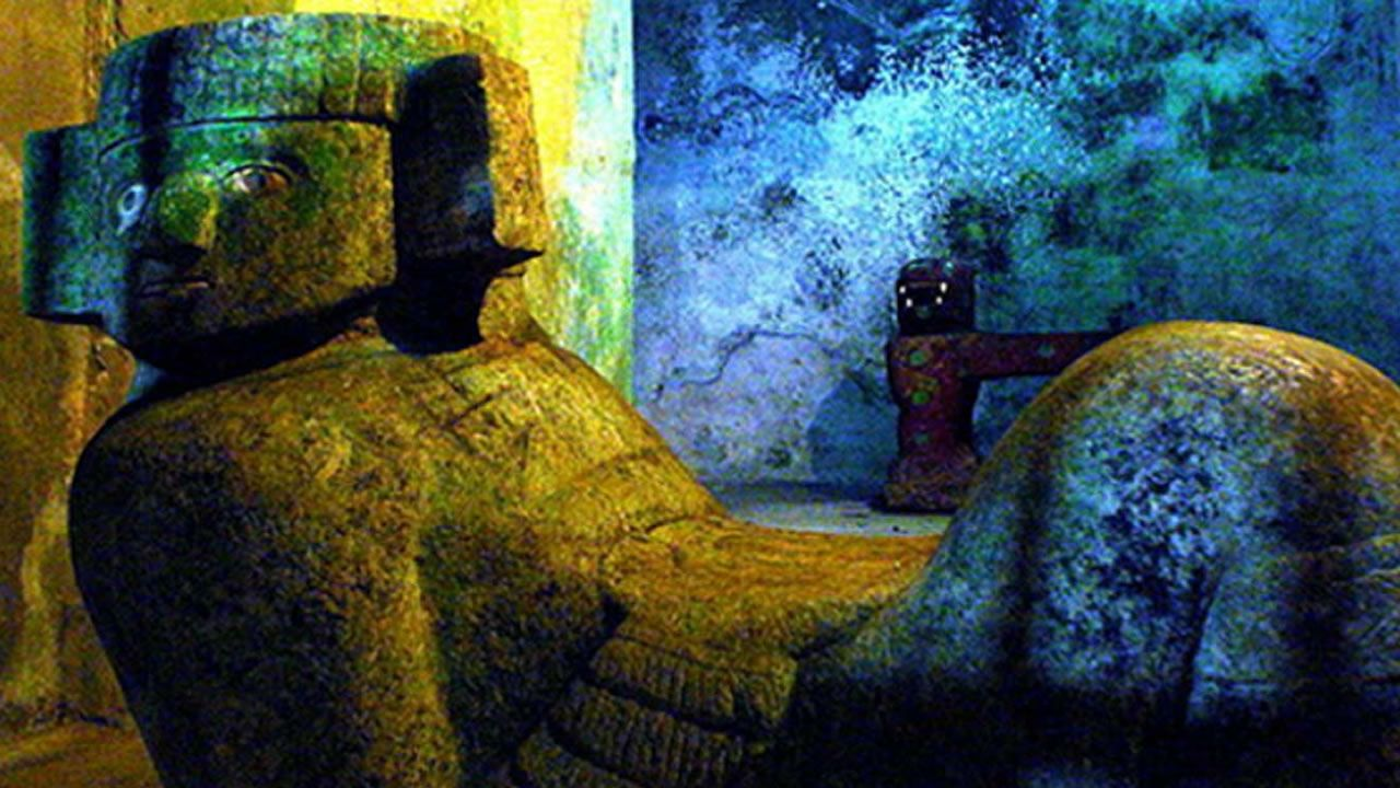 Chac Mool y el mito de la Atlántida