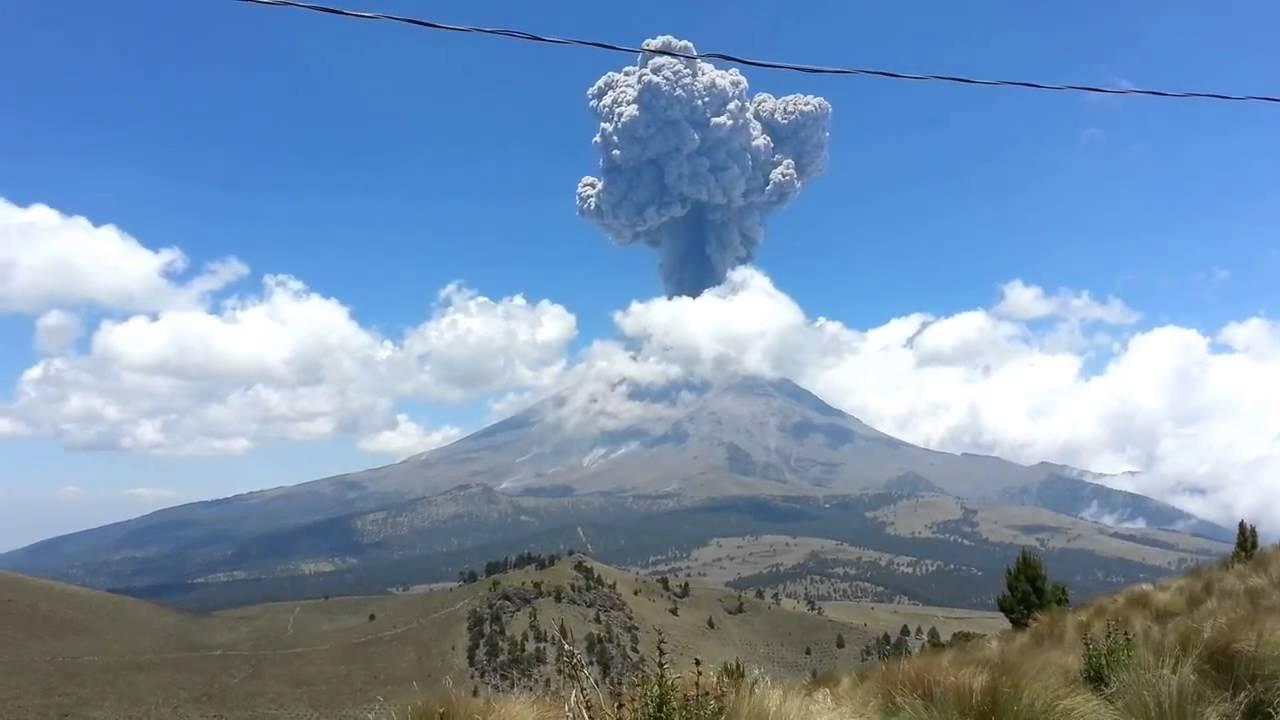 Volcán Popocatépetl hace erupción tras el terremoto en México