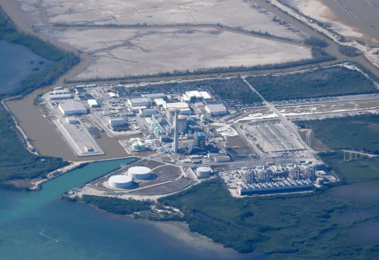 La central nuclear de Turkey Point