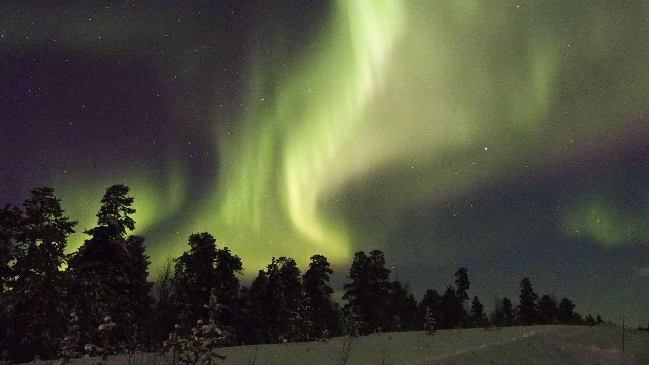 Una fantasmal Aurora podría ser visible en el norte de EE.UU. este miércoles por la noche