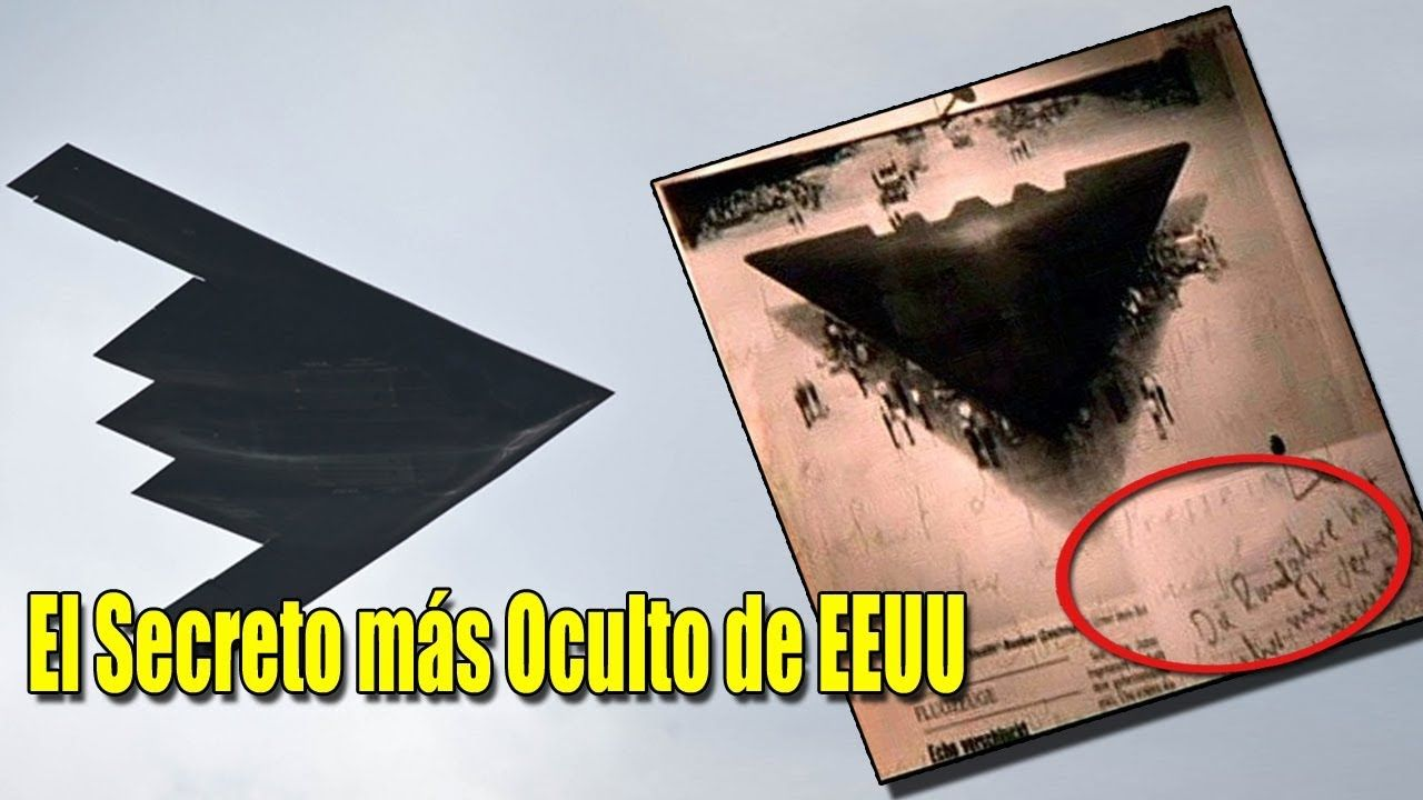 El Secreto más oculto de EE.UU.: Aviones con Tecnología Extraterrestre