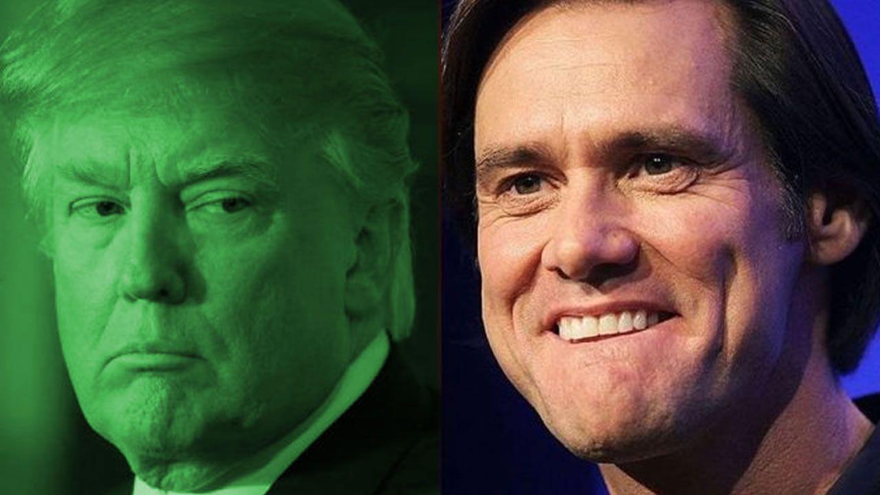 Jim Carrey afirma que Donald Trump es un «principe de sangre Reptil-Illuminati»