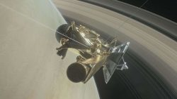 Cassini se autodestruyó en la atmósfera de Saturno