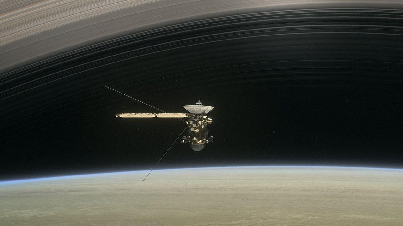 Todo a punto para la muerte de Cassini en Saturno