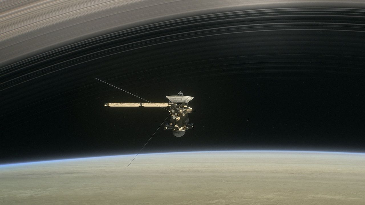 El Gran Finale de la sonda Cassini en vivo