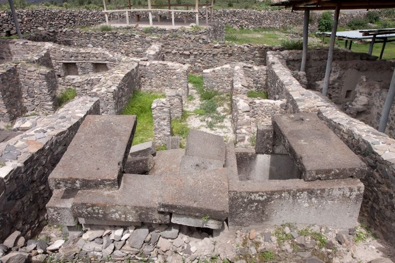 Las ruinas parecen estar casi en el mismo estado en que se encontraban durante los días del poderoso imperio Wari,