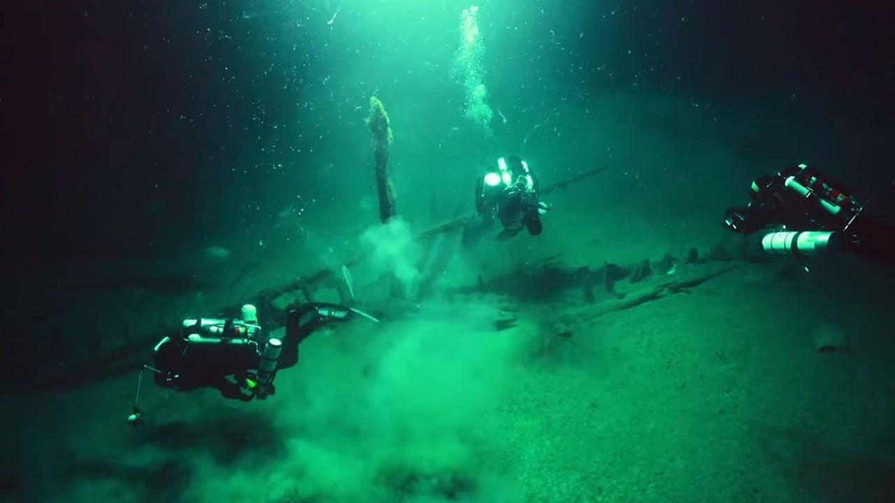 Descubren 60 antiguos barcos romanos, bizantinos y otomanos en el Mar Negro