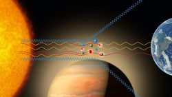 Detectan titanio en la atmósfera de un exoplaneta