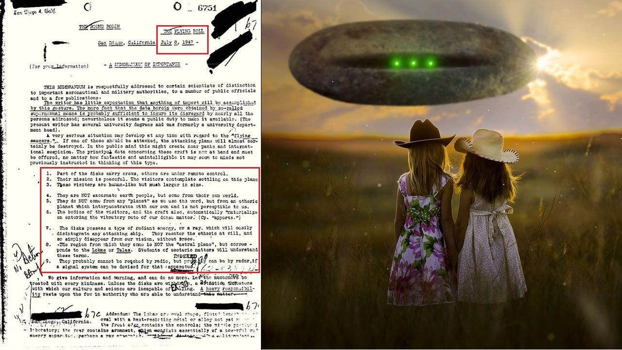 Documento del FBI revela existencia de extraterrestres, y detalla su fisiología, origen y tecnologías