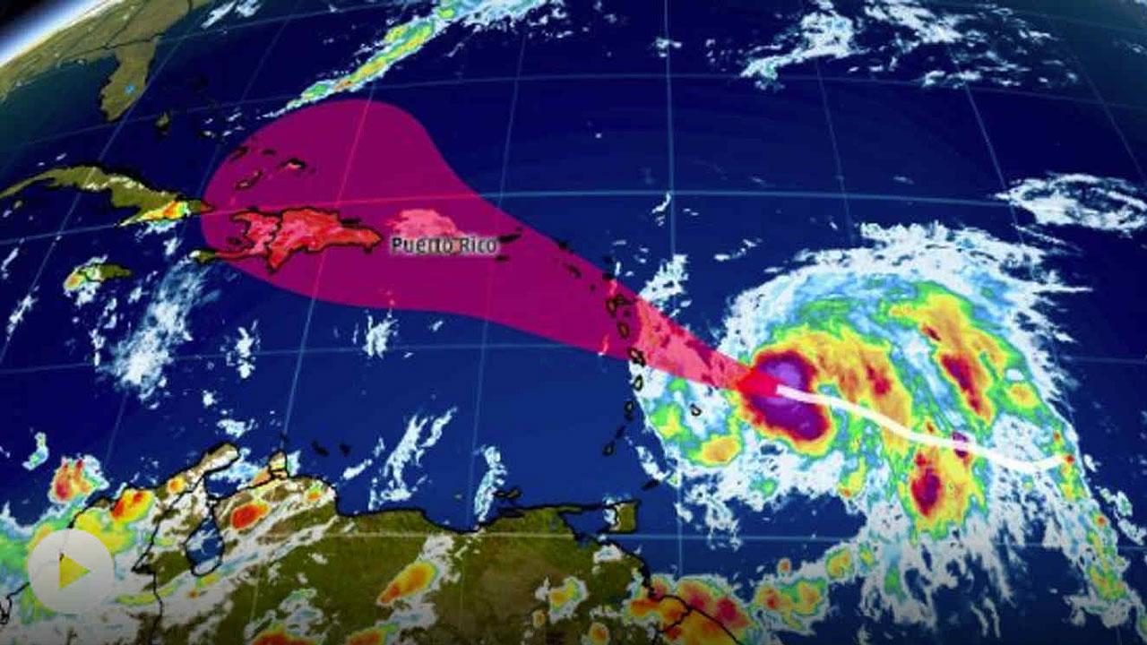 Un nuevo huracán: María, y va en dirección a Puerto Rico