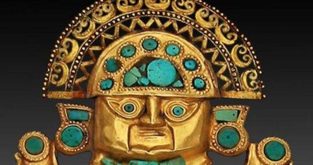 Imagen de Inti, dios del Sol e hijo de Viracocha en la mitología inca