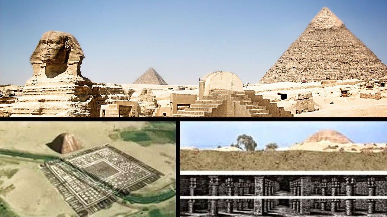 ¿Existe un enorme laberinto bajo las Pirámides de Egipto?