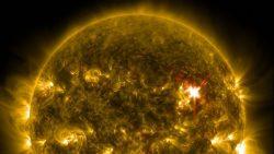 El Sol emite otra fuerte llamarada, la cuarta en menos de una semana