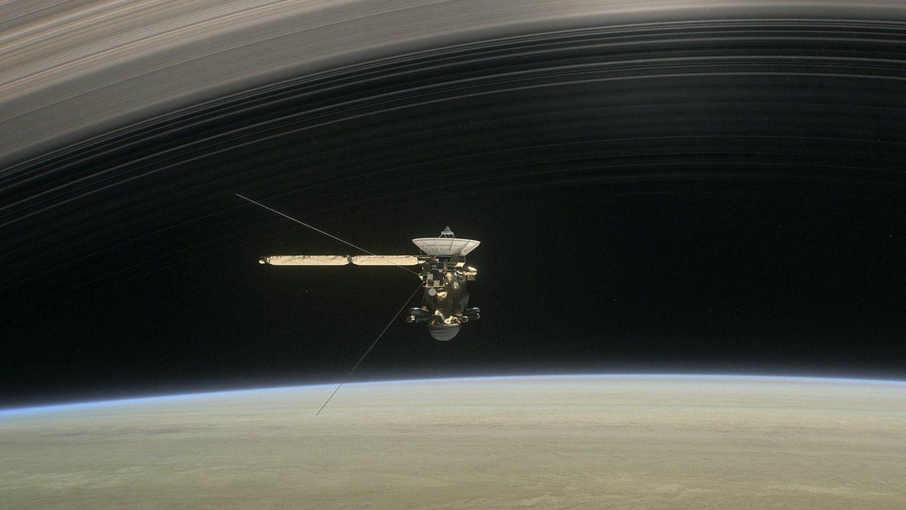NASA dirige la nave Cassini hacia un impacto seguro contra Saturno
