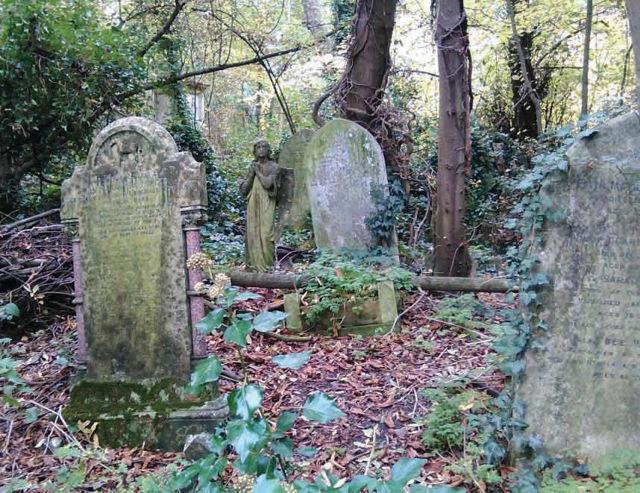 Según David Bullock, «Jack el Destripador», está enterrado en el Cementerio de Nunhead - antes llamado All Saints.