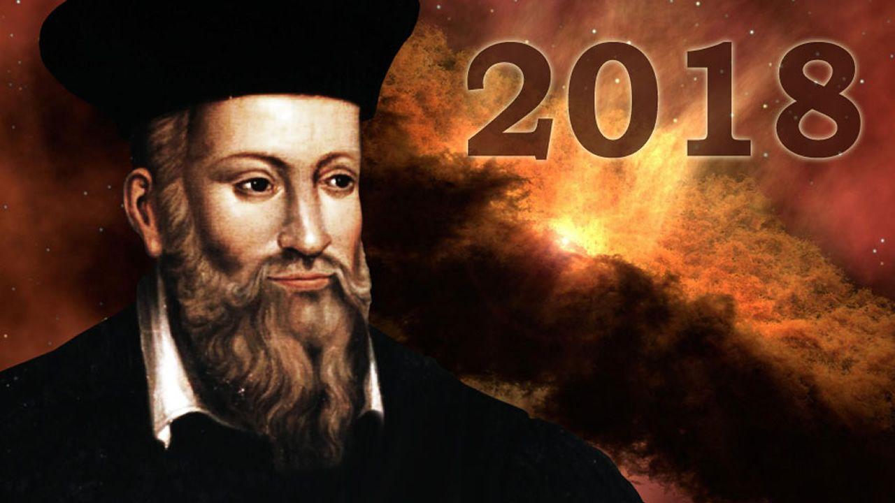 Estas son las predicciones de Nostradamus para 2018