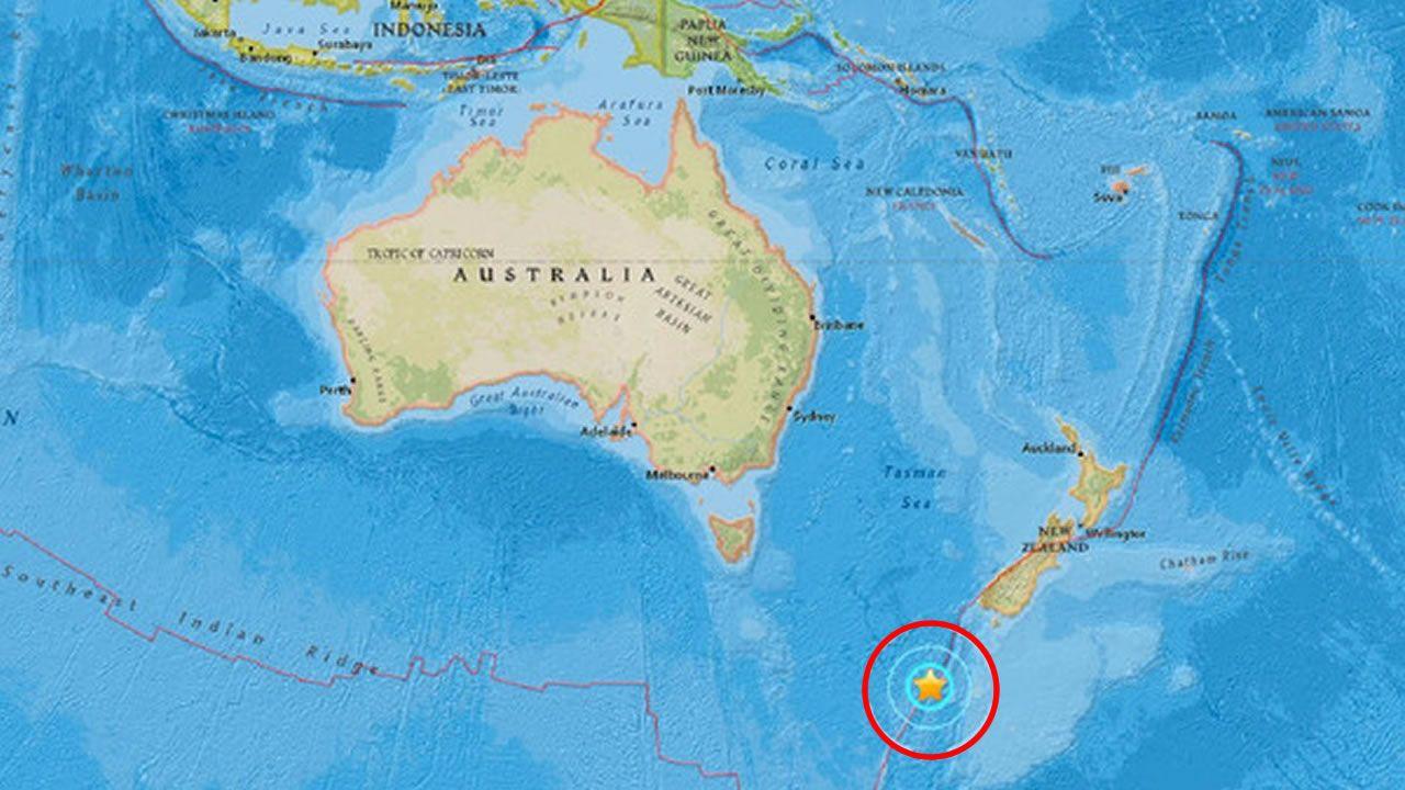 Un sismo de 6.1 grados sacude a Nueva Zelanda