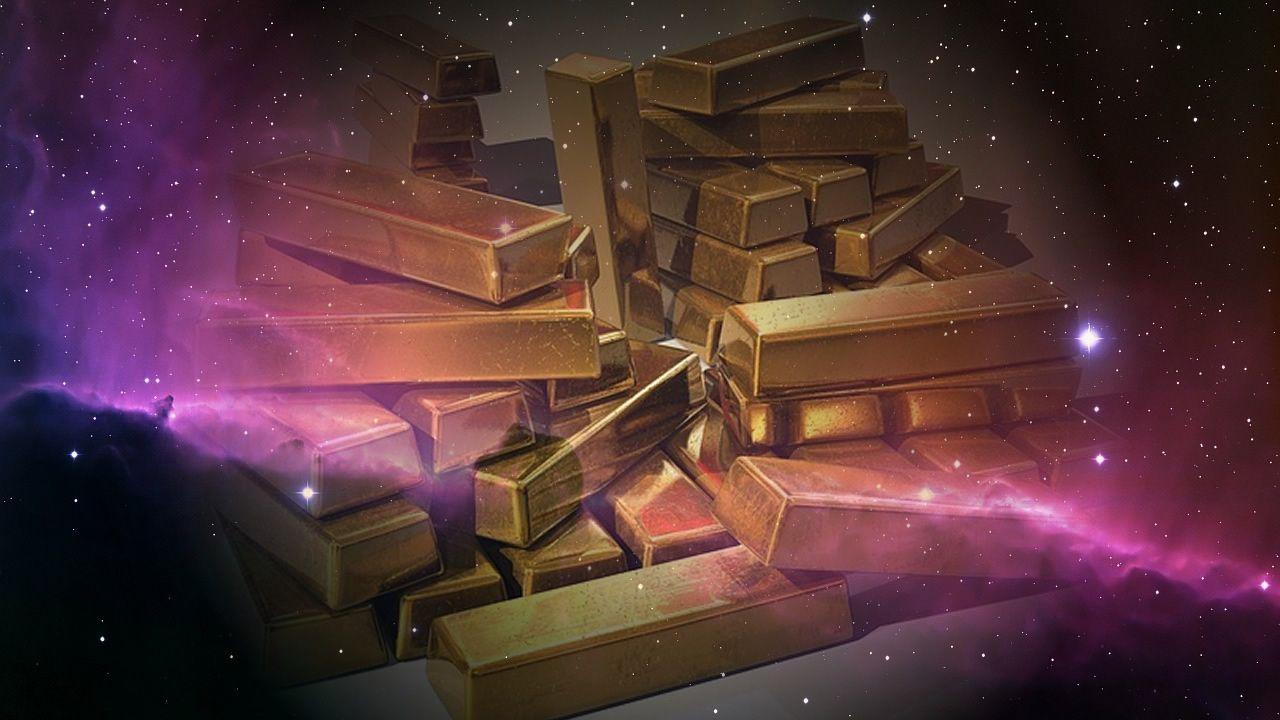 Estudio científico determina de dónde proviene todo el oro del Universo
