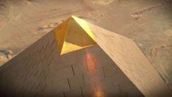 Luz del Sol en la Piedra: La Gran Pirámide de Giza canaliza, captura y encapsula la luz