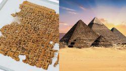 Antiguo papiro revela un gran misterio de las Pirámides de Egipto