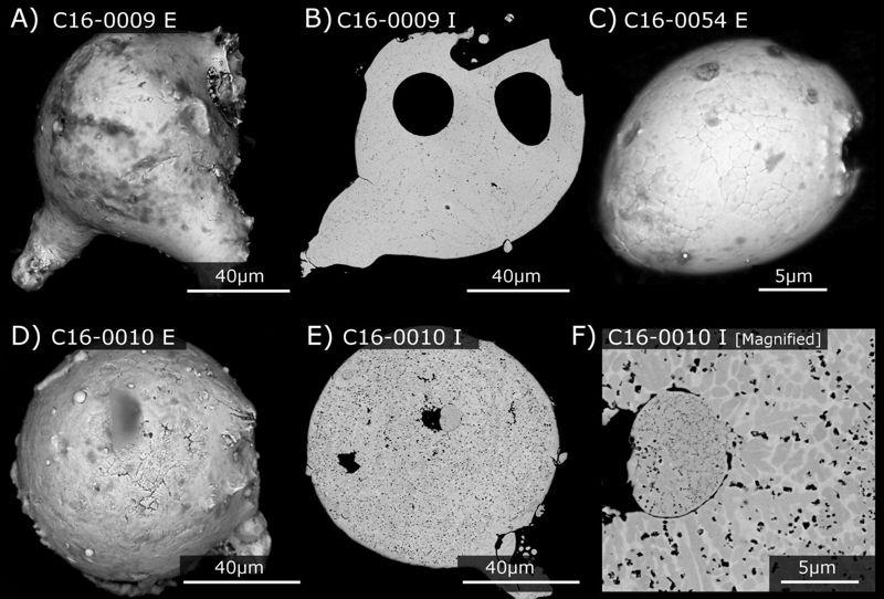Partículas fosilizadas de polvo cósmico halladas en los acantilados blancos de Dover
