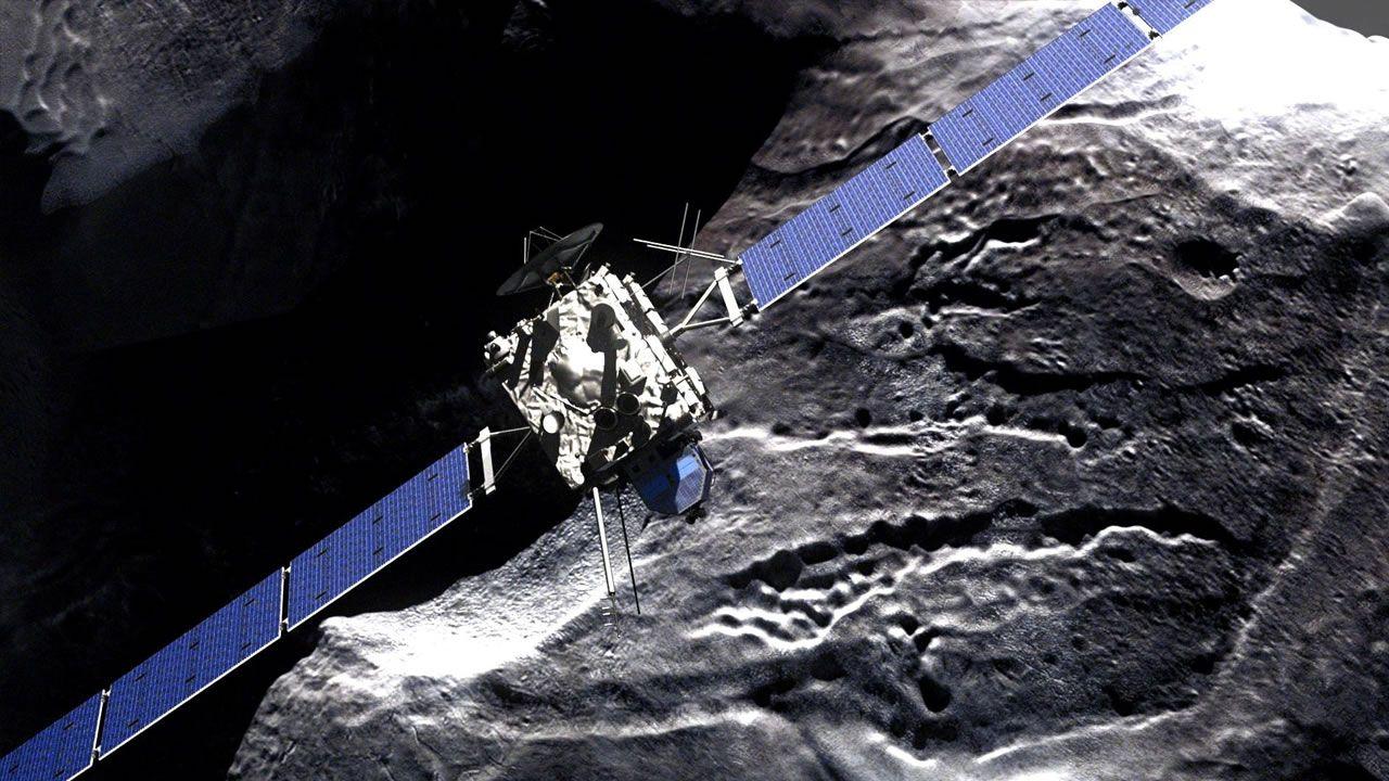 Encuentra una nueva foto de Rosetta, «ocultándose» entre los datos