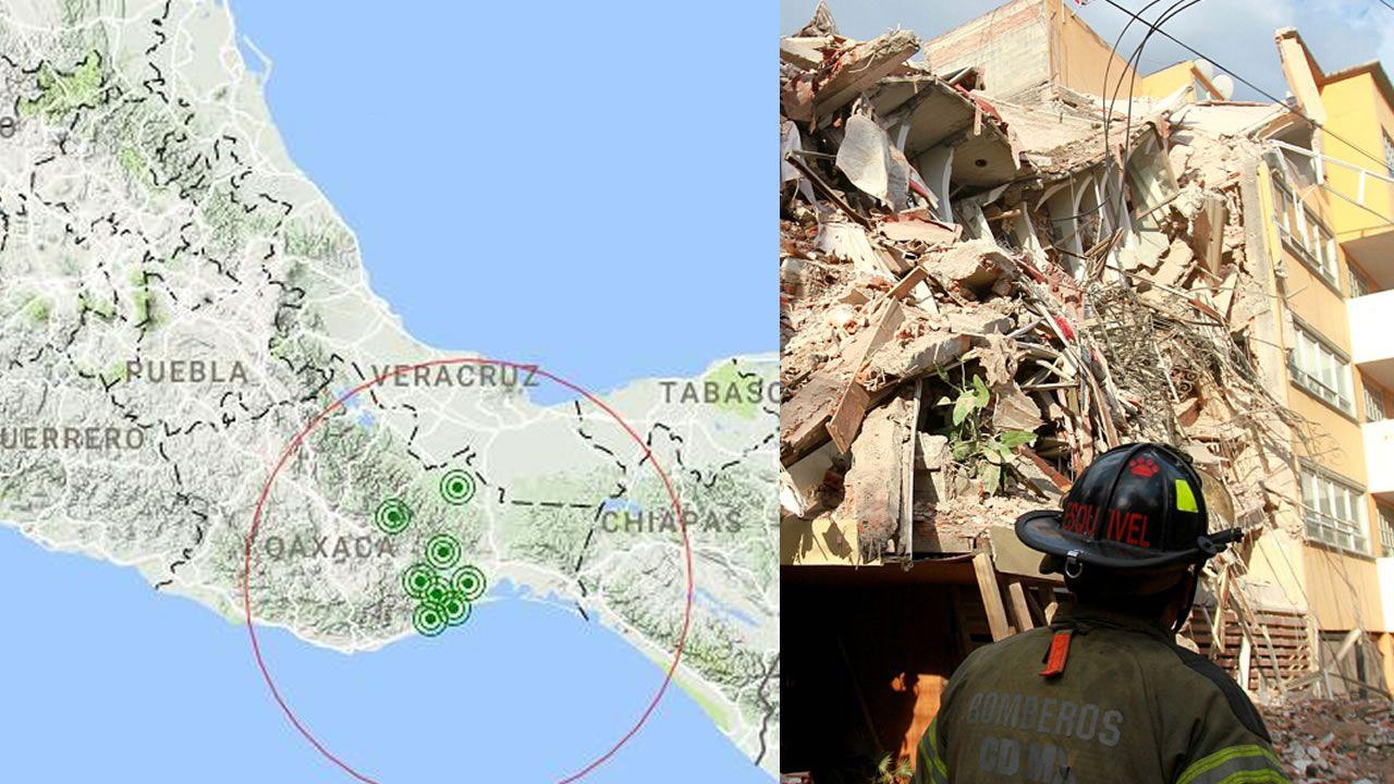 Fuerte sismo de 6.1 grados hace temblar México nuevamente