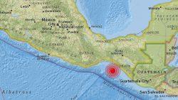 Nuevo sismo de magnitud 5.8 sacude Chiapas, México