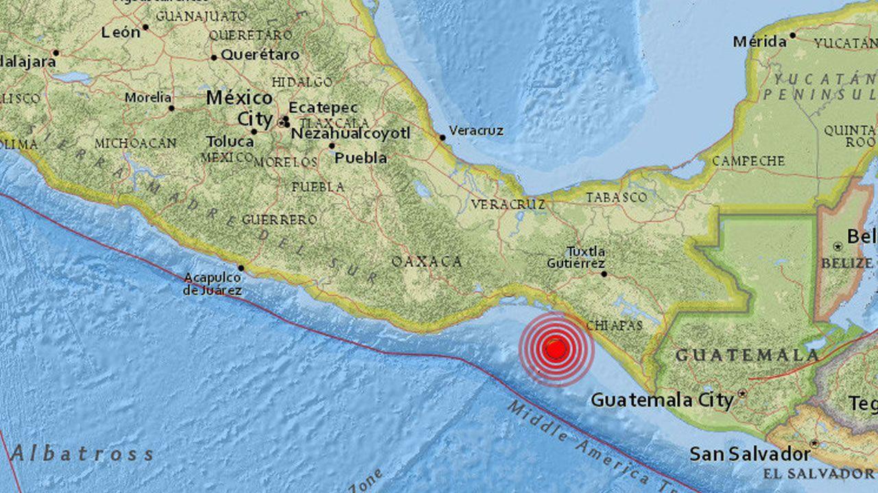 Nuevo terremoto hace temblar la localidad de Chiapas, México